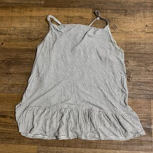 Mossimo striped tank top